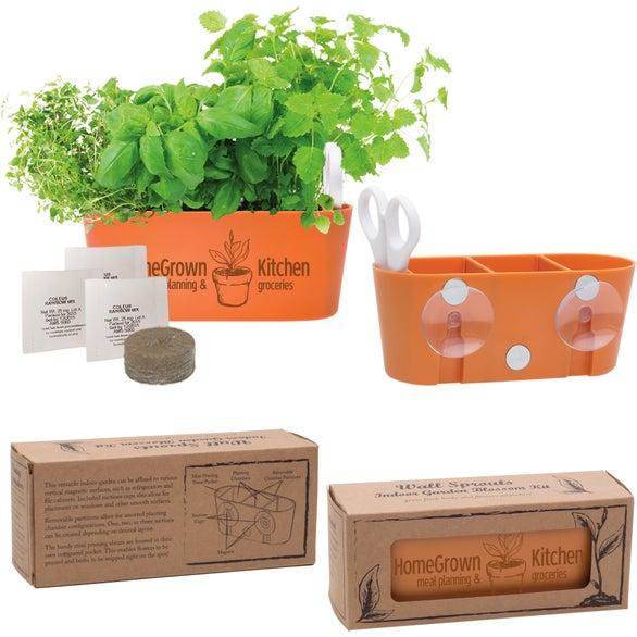 Terra Cotta Wall Sprouts Indoor Garden Blossom Kit