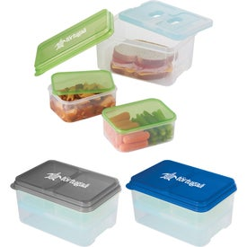 3 Piece Lunch Set with Ice Pack