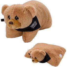 Bernard Bear Plush Pillow