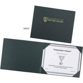 Prestige Certificate Holder