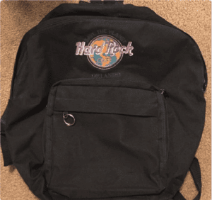 Hard Rock Backpack