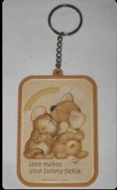 Hallmark keychain