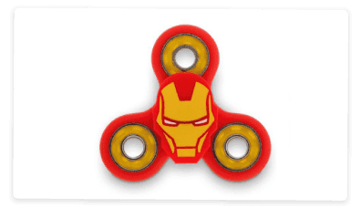 Iron Man Fidget Spinner