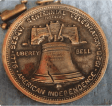 Liberty Bell keychain