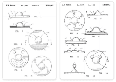 Spinning Toy Patents