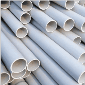 PVC Pipes:  Example of SPI Code 3 Plastic