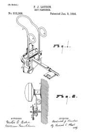 keychain fastener