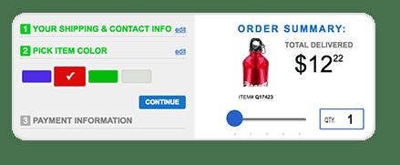 QLP order summary
