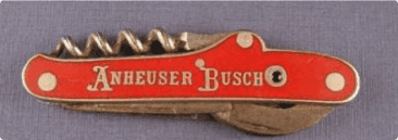 #2: Anheuser-Busch's Bottle Openers