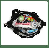 Use as a Custom Diaper Bag