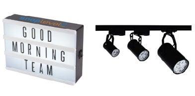 Bright Lighting & Eye-Catching Props