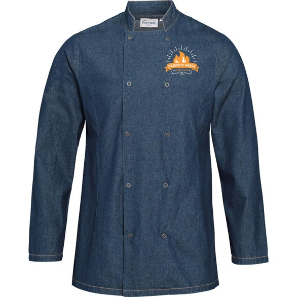 Blue Denim Artisan Collection by Reprime Unisex Denim Chef's Coat