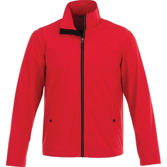 Team Red Karmine Softshell Jacket by TRIMARK