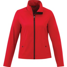 Karmine Softshell Jacket by TRIMARK (Women's)