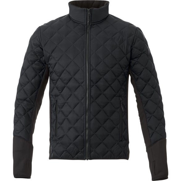 Black Rougemont Hybrid Insul Jacket by TRIMARK