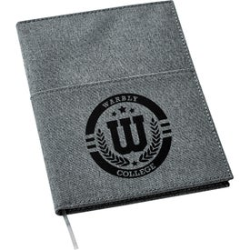"5"" x 7"" Canvas Pocket Refillable Notebook"