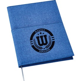 Canvas Pocket Refillable Notebook (50 Sheets)