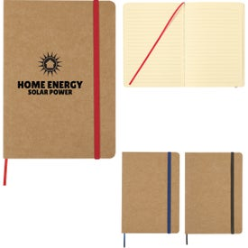 Eco Inspired Strap Notebook (40 Sheets)