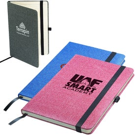 Bound Strand Snow Canvas Journal