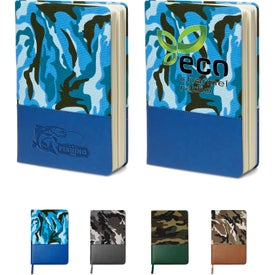 Camo Canvas Journal (80 Sheets)