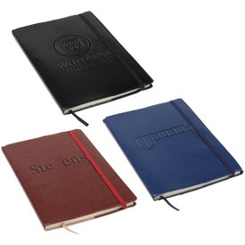 Conclave Refillable Leatherette Journal (80 Sheets)