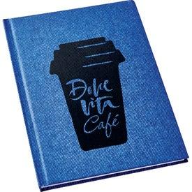 Denim Look Notebook