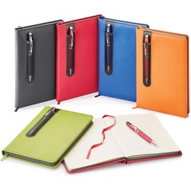 Donald Journals with Twist Action Ballpoint Pen (192 Sheets)