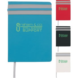 Elastic Stripe Journal (80 Sheets)