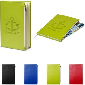 Element Softbound Journal with Zipper Pocket (80 Sheets)