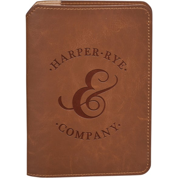 Tan Field and Co. Campster Refillable Pocket Journal