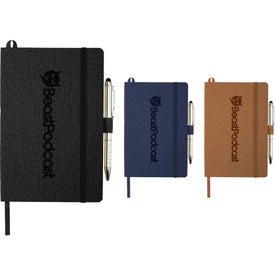 """Heathered Soft Bound JournalBook (8.5"""" x 5.5"""")"""