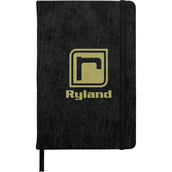 Black Journal with Textured Cover