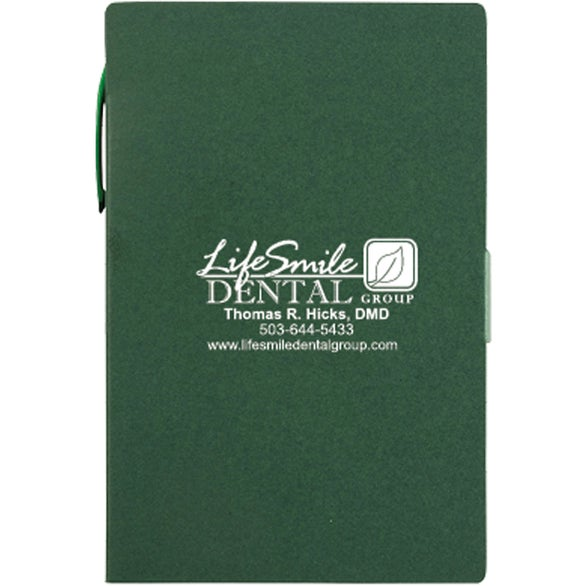 Green Kraft Paper Journal with Flat Finish