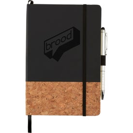 Lucca Cork Hard Bound Journalbook (80 Sheets)