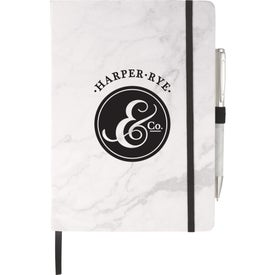 Marble Hard Bound JournalBook