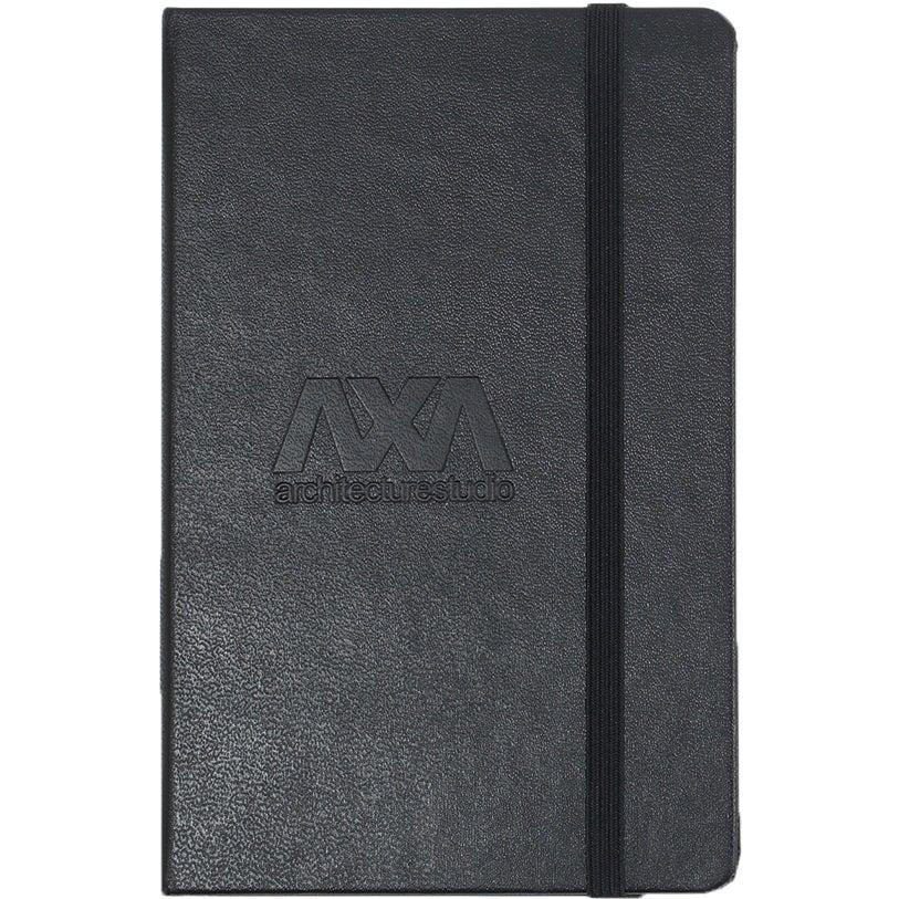 Moleskine Hard Cover Squared Pocket Notebook