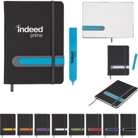 """Parallel Journal and Pen Set (5"""" x 7"""")"""