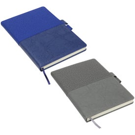 Quarry Textured Journal with Interlocking Pen Closure (96 Sheets)