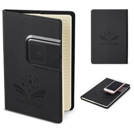 Refillable Journal With Wireless Charging Panel (80 Sheets)