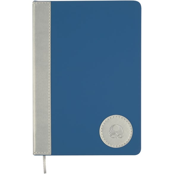 Royal Blue / Silver Silver Medallion Journal