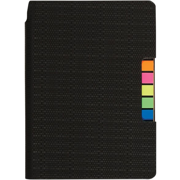 Navy Sticky Flag Journal Notebook