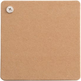 Tan Colored Cardboard Cover Journal