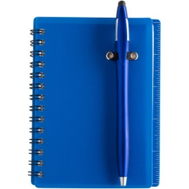 Spiral Bound Journal Notebook with Translucent PVC Cover (60 Sheets)