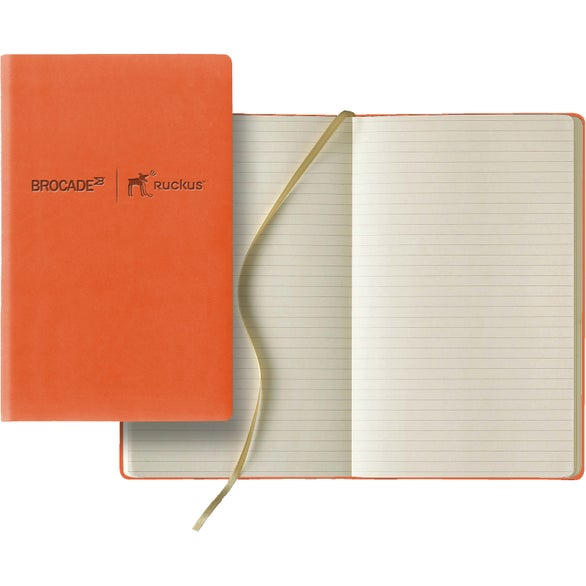 Orange Tucson Slim Medium Ivory Journal