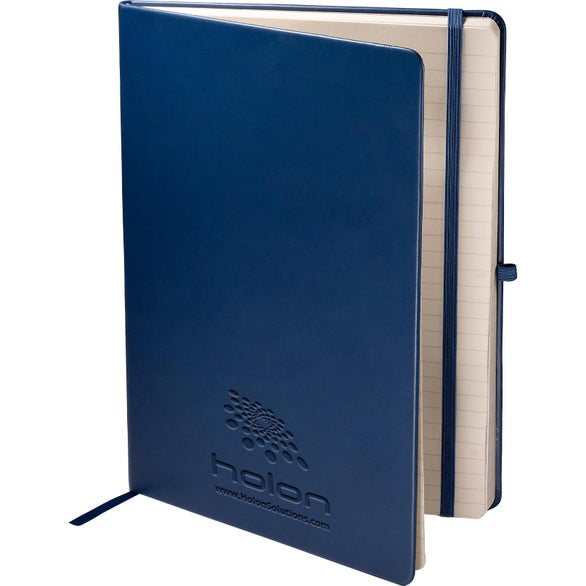 Navy Blue Tuscany Large Journal
