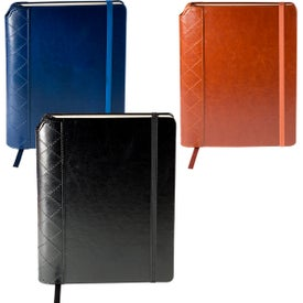 Venezia Quilted Journal with Pen Slot (80 Sheets)