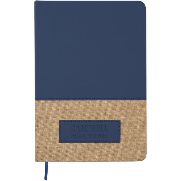 Navy Blue / Tan Write Attendant Journal