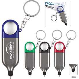 3-In-1 Stylus With Key Ring
