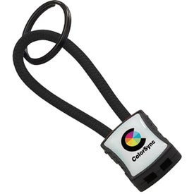 "3/16"" Non-Reflective Power Cord Key Tag"