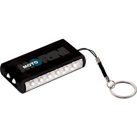 Aura 8 LED Keychain Light for Your Company